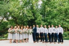 posed-bridal-party