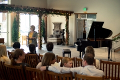 Piano recital at the Alpine Art Center
