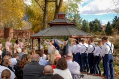 Ceremony during fall