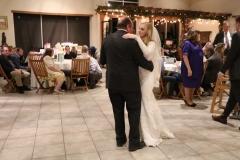 Bride's dance
