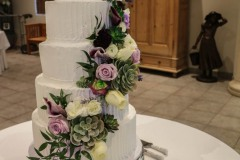 Buffet Decor Cake Display